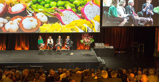 Rabobank analysts speaking at the F20 forum