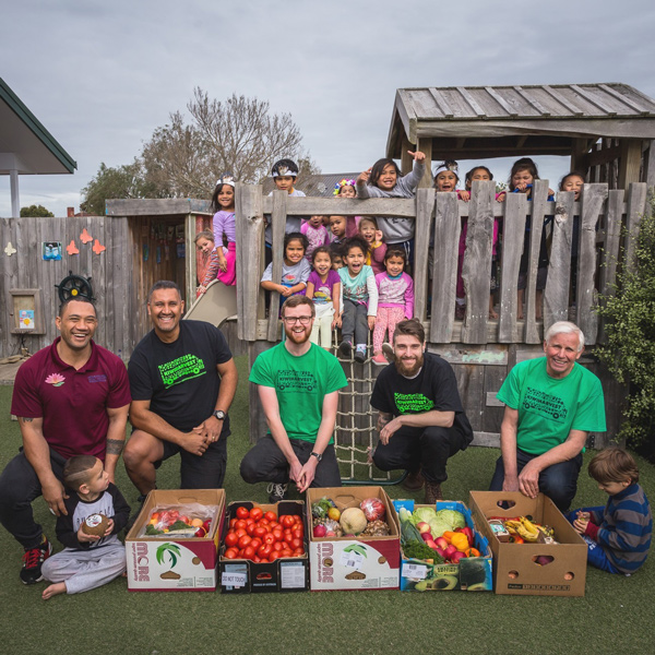 KiwiHarvest Food Rescue with Children